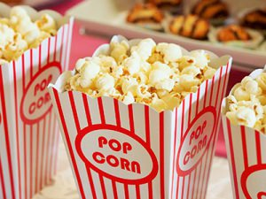 Kids Party Treats: Popcorn